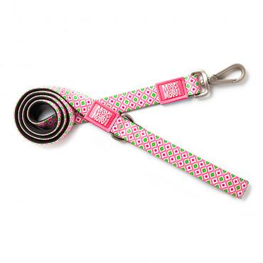 Trela Retro Pink para cão - Max & Molly