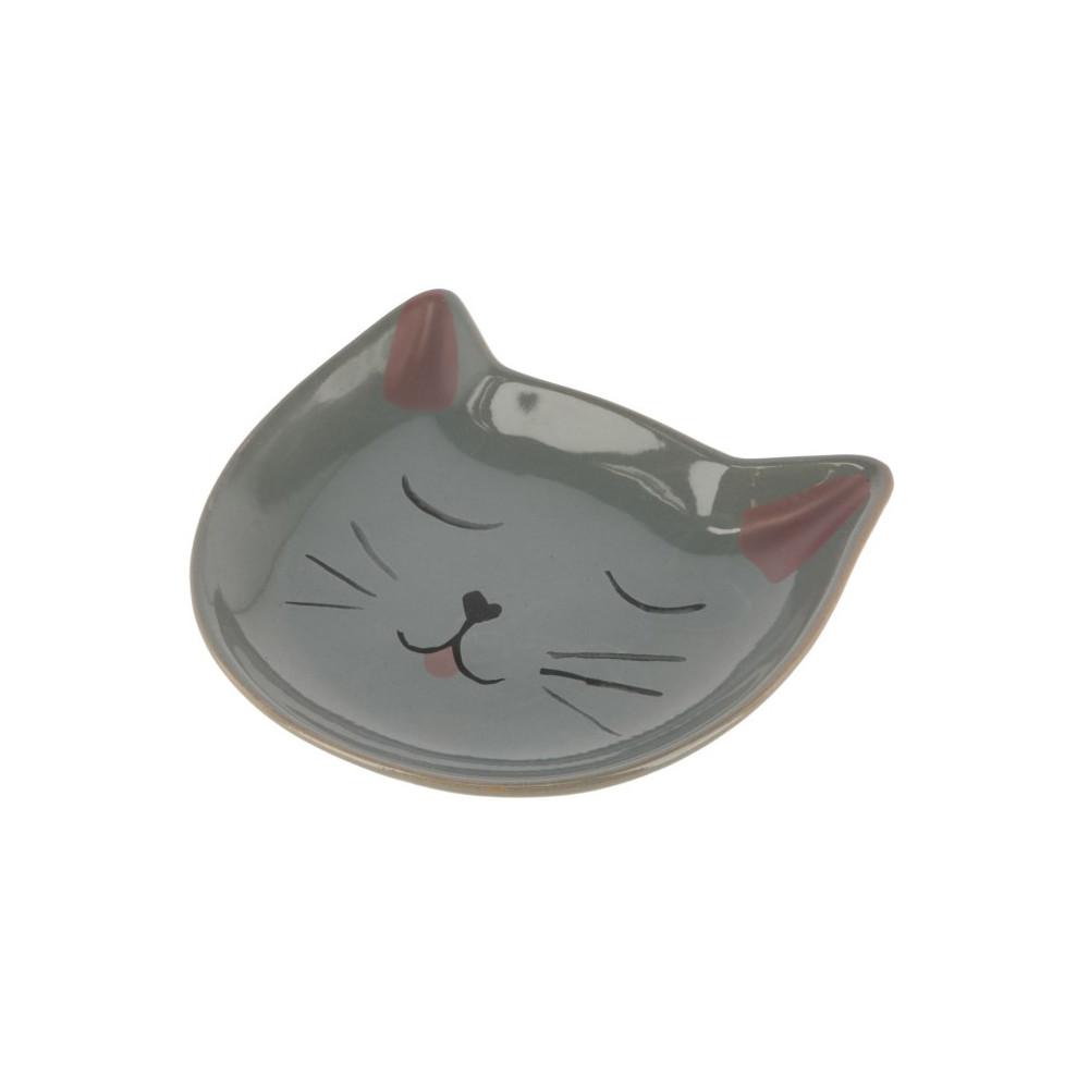 Taça cerâmica com desenho de gato - Kerbl