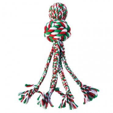 Brinquedo de corda natalício - KONG Wubba Weaves