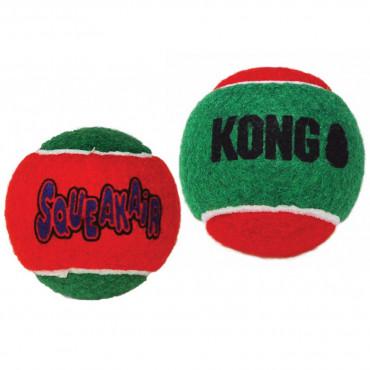Bolas de Natal - KONG Squeakair