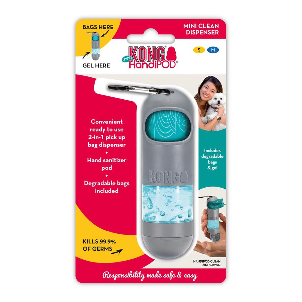 Dispensador com gel desinfetante - KONG HandiPOD