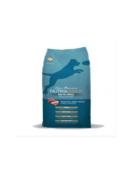 NutraGold Grain Free Peixe & Batata doce 13,6Kg