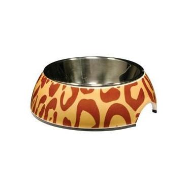 Comedouros Dois em Um 'Style' Leopardo - 160 ml (HG)