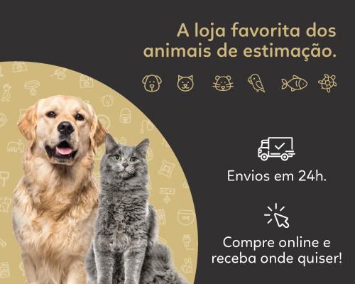 A loja favorita dos animais de estimação